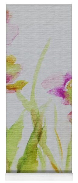 Delicate Blossoms Yoga Mat