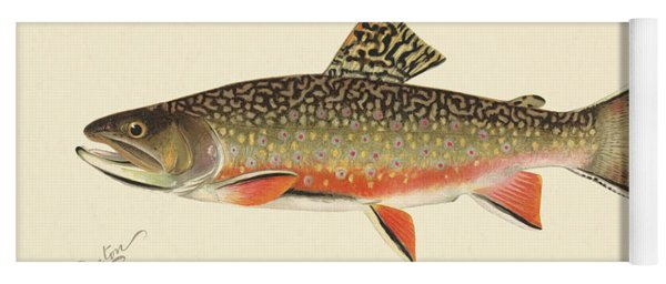 Denton Brook Trout Yoga Mat