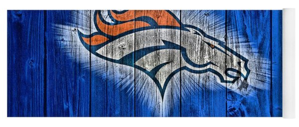 Denver Broncos Barn Door Yoga Mat
