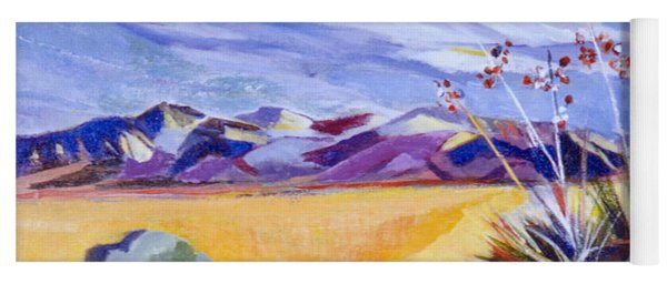Desert And Mountains Yoga Mat