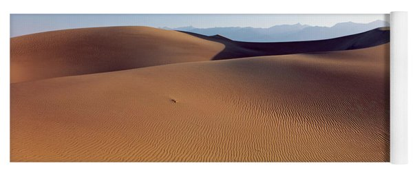 Desert Death Valley Ca Usa Yoga Mat