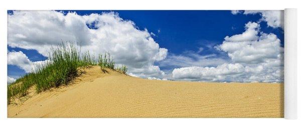 Desert Landscape In Manitoba Yoga Mat