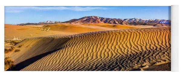 Desert Lines Yoga Mat