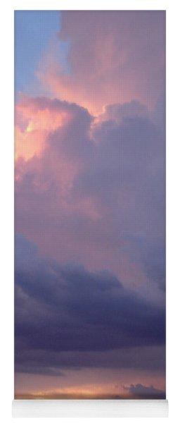 Desert Rainstorm 6 Yoga Mat