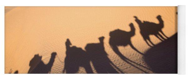 Desert Shadows Yoga Mat