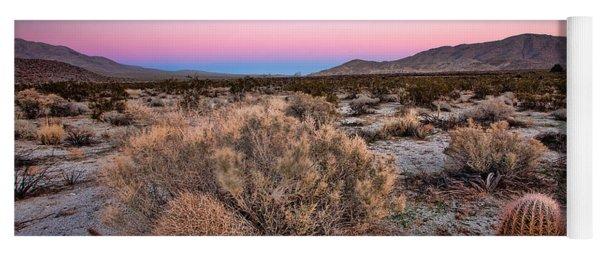 Desert Twilight Yoga Mat