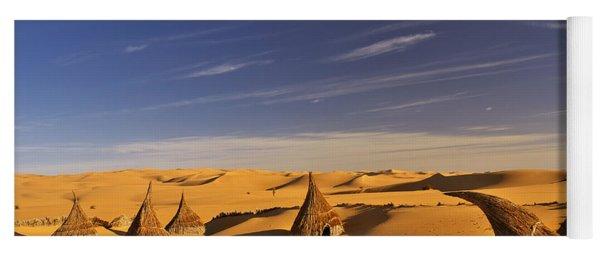 Desert Village Yoga Mat