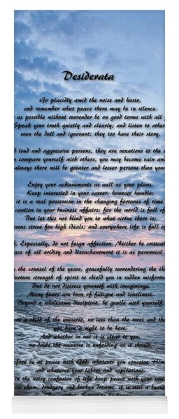 Desiderata Wisdom Yoga Mat