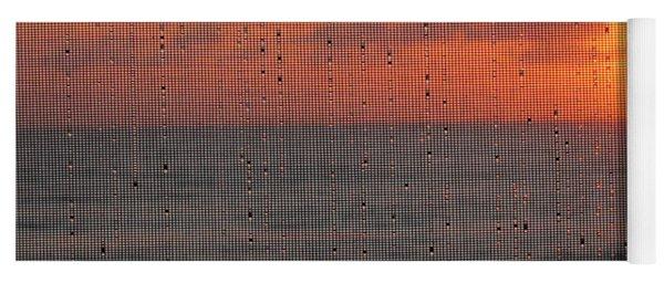 Dew Drop Sunrise Yoga Mat