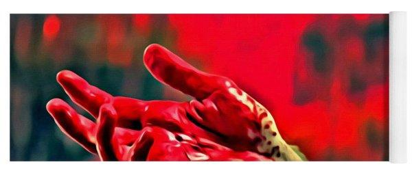 Dexter Bloody Hand Yoga Mat