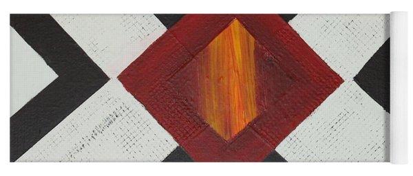 Diamond Fire 2 Yoga Mat