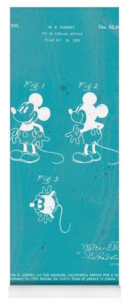 Disney Mickey Mouse Yoga Mat