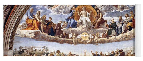 Disputation Of The Eucharist  Yoga Mat