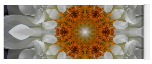 Divine Love Flower Mandala Yoga Mat
