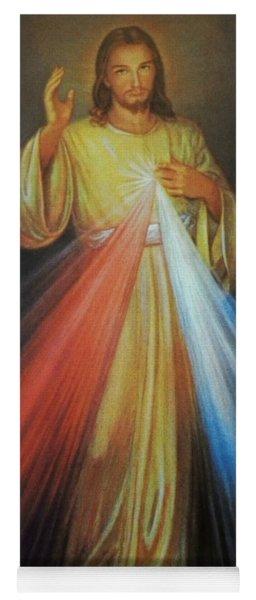 Divine Mercy Jesus Yoga Mat