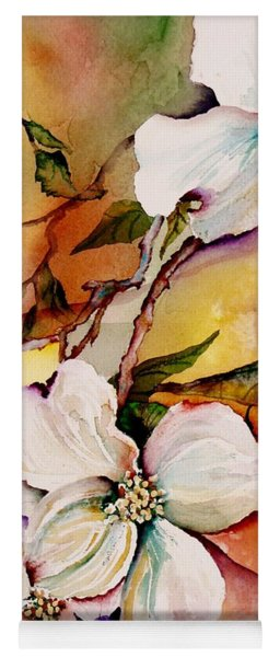 Dogwood In Spring Colors Yoga Mat