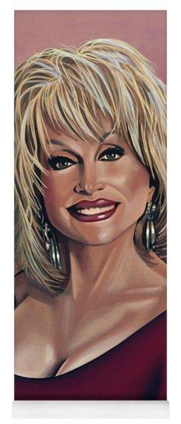 Dolly Parton 2 Yoga Mat