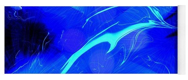 Dolphin Abstract - 1 Yoga Mat