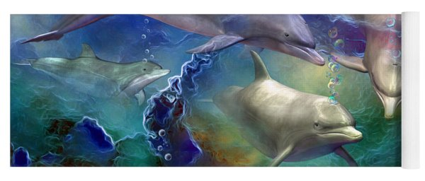 Dolphin Dream Yoga Mat
