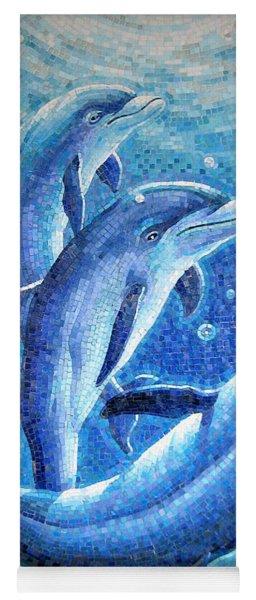 Dolphin Trio Yoga Mat