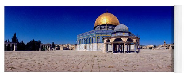 Dome Of The Rock, Temple Mount Yoga Mat