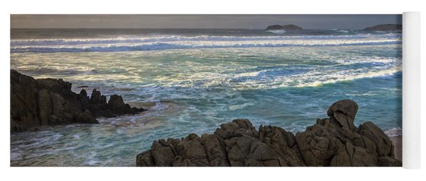 Doninos Beach Ferrol Galicia Spain Yoga Mat