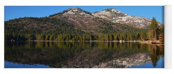 Donner Lake Reflection Yoga Mat