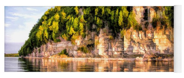 Door County Ellison Bay Bluff Yoga Mat