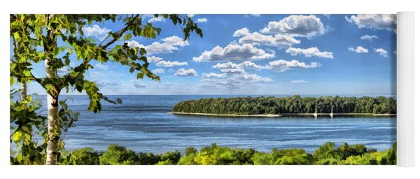 Door County Horseshoe Island Yoga Mat