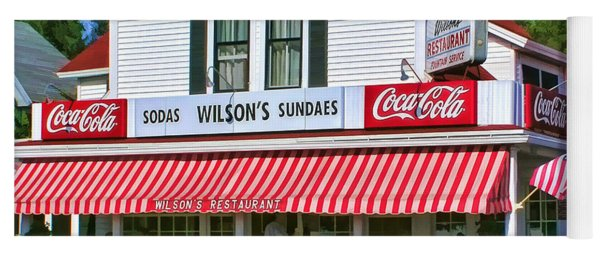 Door County Wilson's Restaurant And Ice Cream Parlor Yoga Mat