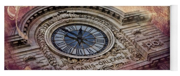 D'orsay Clock Paris Yoga Mat