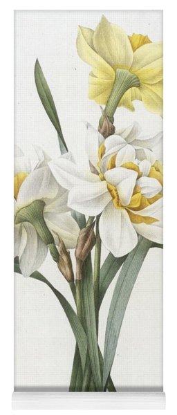 Double Daffodil Yoga Mat