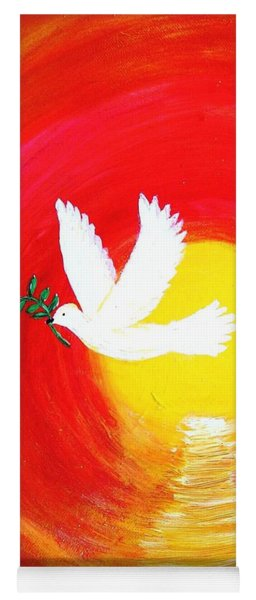 Dove Of Peace Yoga Mat