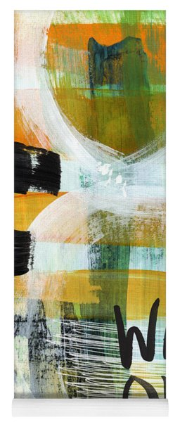 Downtown- Abstract Expressionist Art Yoga Mat