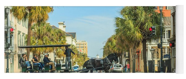 Downtown Charleston Stroll Yoga Mat