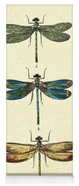 Dragonflies Yoga Mat