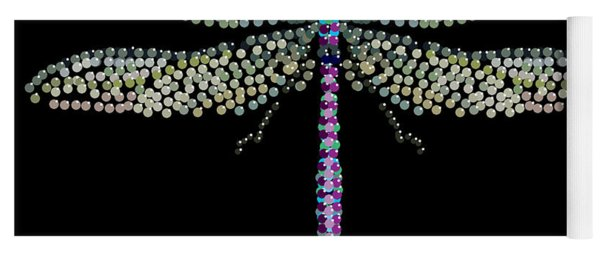 Dragonfly Bedazzled Yoga Mat