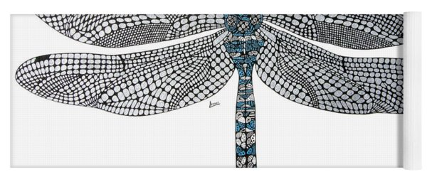 Dragonfly Yoga Mat
