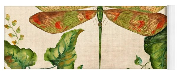 Dragonfly Whimsey Yoga Mat