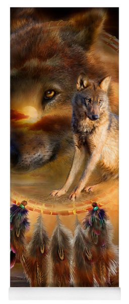 Dream Catcher - Wolfland Yoga Mat