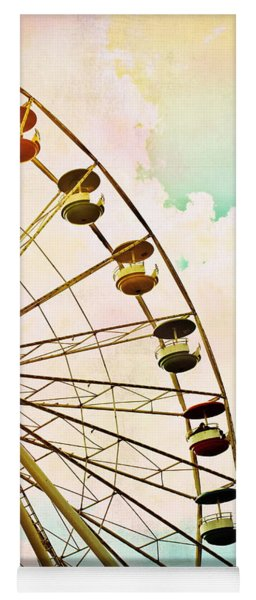 Dreaming Of Summer - Ferris Wheel Yoga Mat