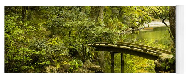Dreamy Japanese Garden Yoga Mat