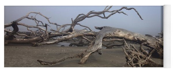 Driftwood Trees On Jekyll Island Yoga Mat