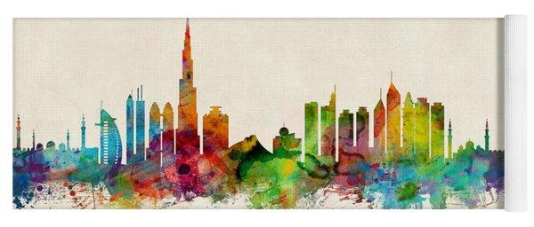 Dubai Skyline Yoga Mat