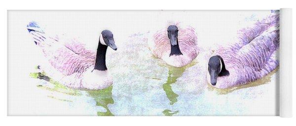 Ducks Yoga Mat