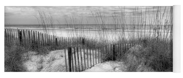 Dune Fences Yoga Mat