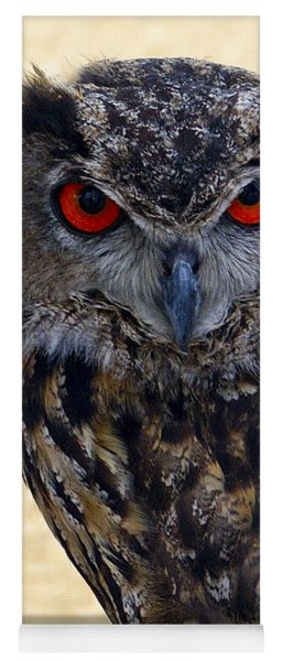 Eagle Owl Yoga Mat