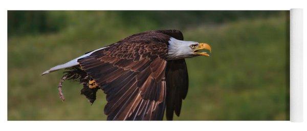 Eagle With Prey Yoga Mat
