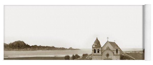 Early Carmel Mission And Point Lobos California Circa 1884 Yoga Mat