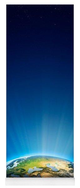 Earth Radiant Light Series - Europe Yoga Mat